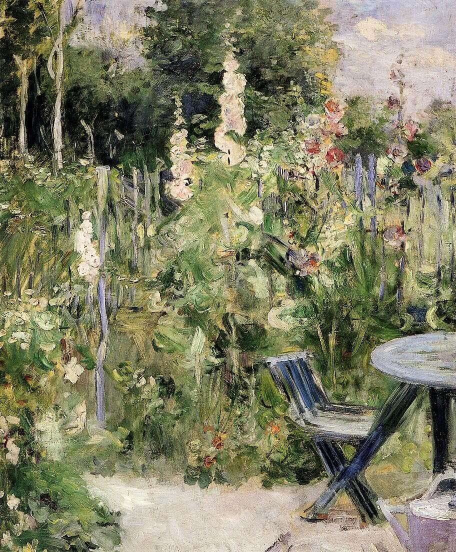 """""""Tremieres rózsák"""" készítette Berthe Morisot"""